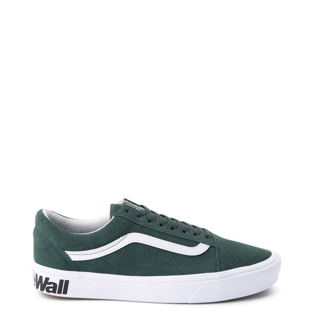 Vans Old Skool ComfyCush® Distort Skate Shoe - Trek Green