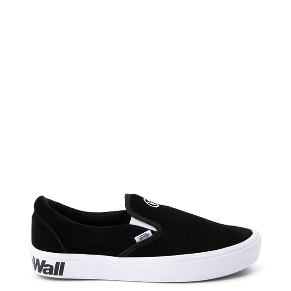 Default view of Vans Slip On ComfyCush® Distort Skate Shoe - Black