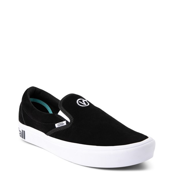 alternate view Vans Slip On ComfyCush® Distort Skate Shoe - BlackALT1