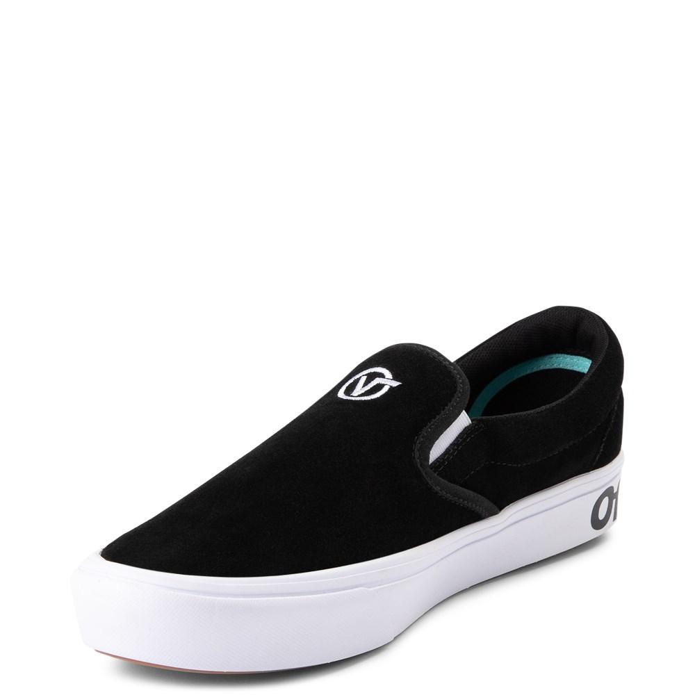 Vans Slip On ComfyCush® Distort Skate Shoe Black