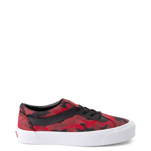 Default view of Vans Bold Ni Skate Shoe - Racing Red Camo / Black