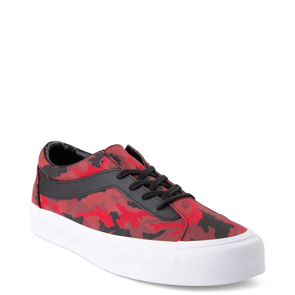Alternate view of Vans Bold Ni Skate Shoe - Racing Red Camo / Black
