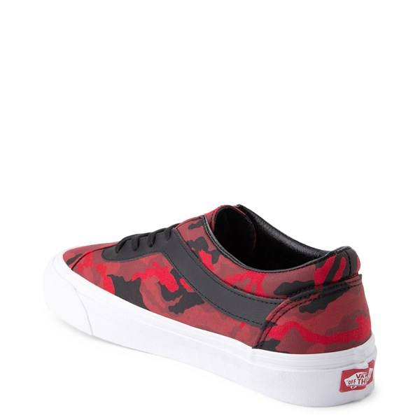 alternate view Vans Bold Ni Skate Shoe - Racing Red Camo / BlackALT2