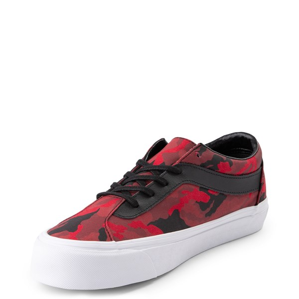 alternate view Vans Bold Ni Skate Shoe - Racing Red Camo / BlackALT3