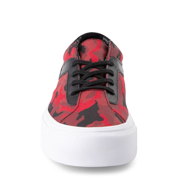 alternate view Vans Bold Ni Skate Shoe - Racing Red Camo / BlackALT4