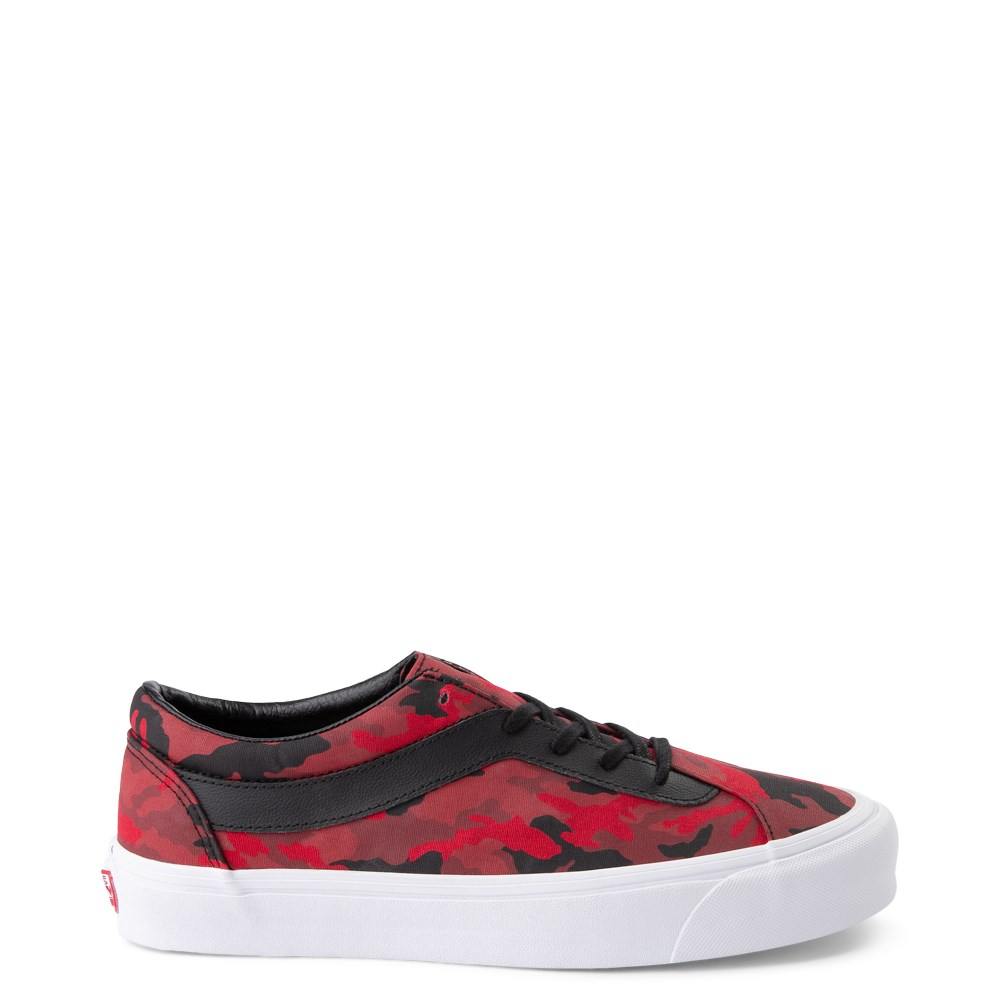 Vans Bold Ni Skate Shoe - Racing Red Camo / Black