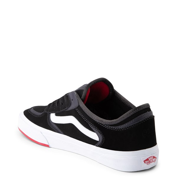 alternate view Vans Rowley Classic Skate Shoe - Black / WhiteALT2
