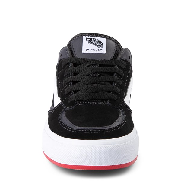 alternate view Vans Rowley Classic Skate Shoe - Black / WhiteALT4