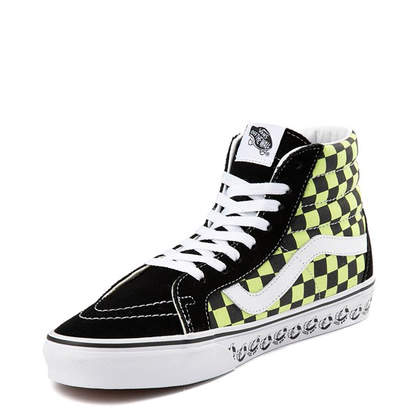 alternate view Vans Sk8 Hi BMX Checkerboard Skate ShoeALT3