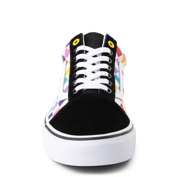 alternate view Vans Old Skool Rainbow Checkerboard Skate ShoeALT4