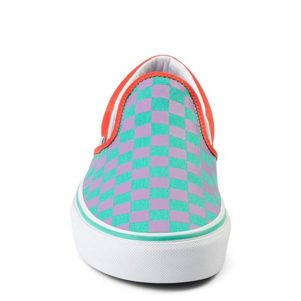 alternate view Vans Slip On Checkerboard Skate ShoeALT4