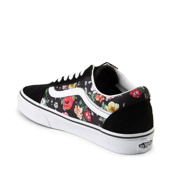 alternate view Vans Old Skool Garden Floral Skate Shoe - BlackALT1