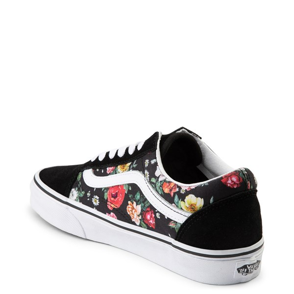 alternate view Vans Old Skool Garden Floral Skate Shoe - BlackALT2