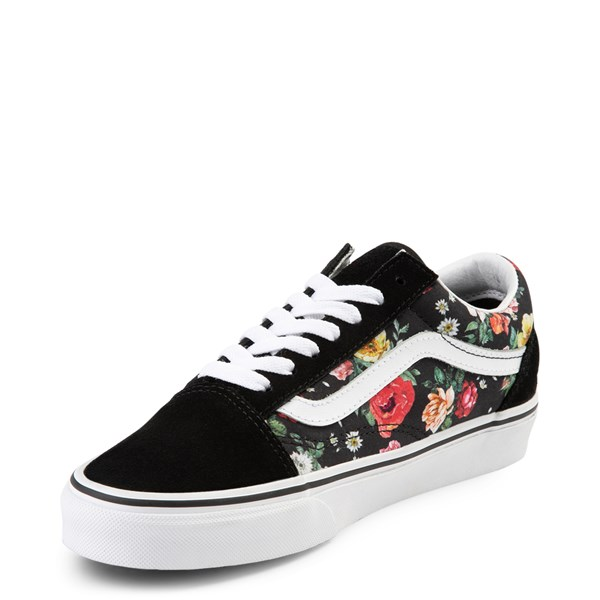 alternate view Vans Old Skool Garden Floral Skate Shoe - BlackALT3