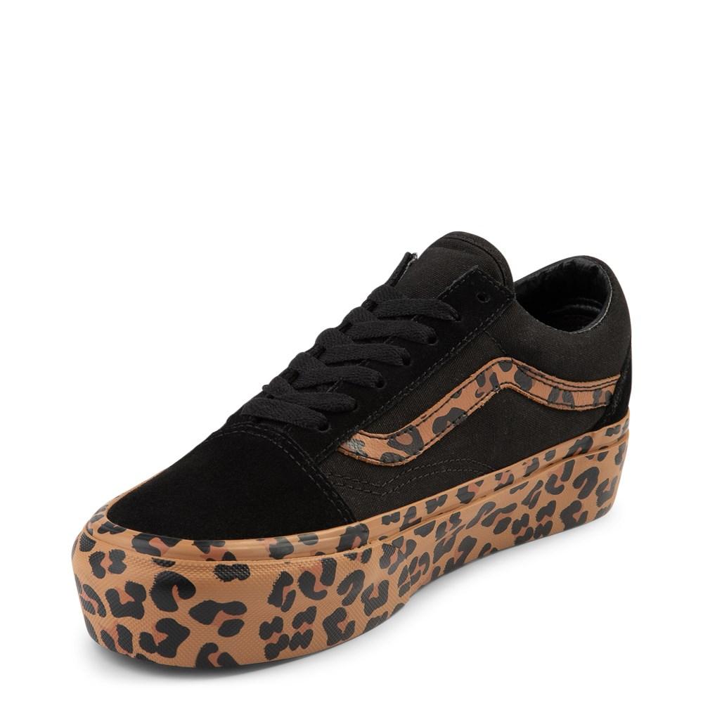f731993c Vans Old Skool Platform Skate Shoe