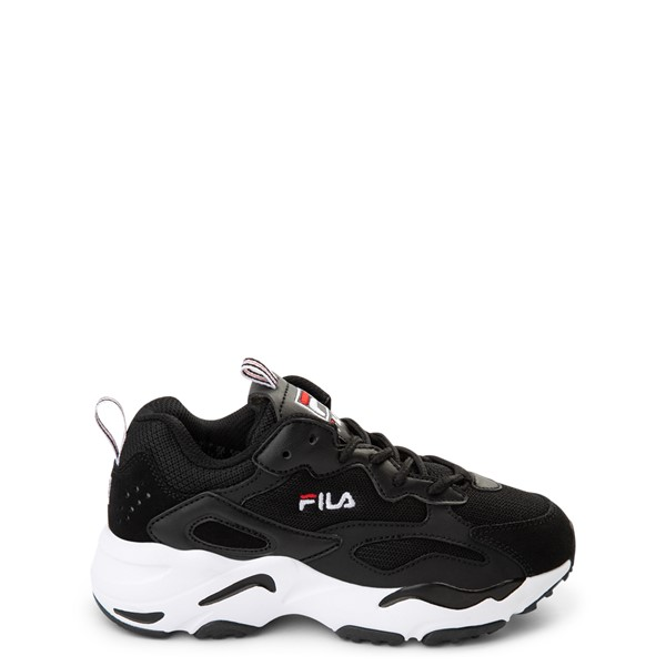 Fila Ray Tracer Athletic Shoe - Little Kid - Black