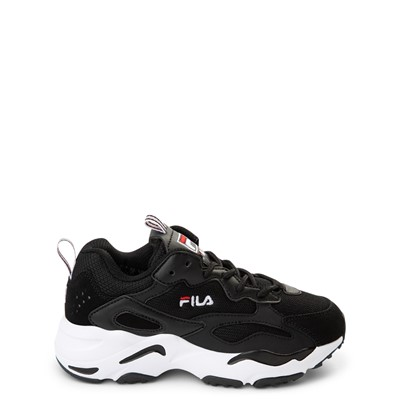 Main view of Fila Ray Tracer Athletic Shoe - Little Kid - Black
