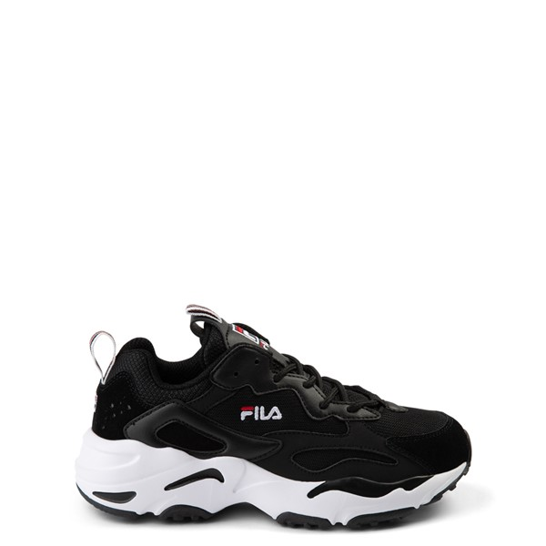 Fila Ray Tracer Athletic Shoe - Big Kid - Black