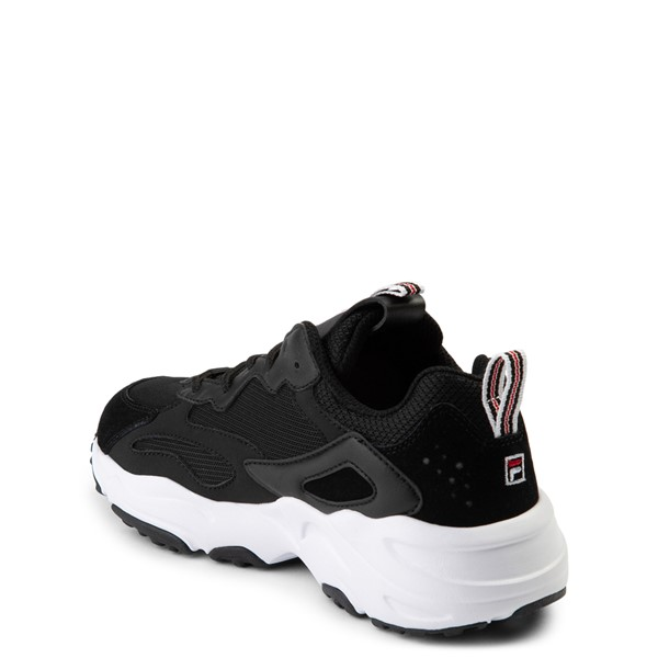 alternate view Fila Ray Tracer Athletic Shoe - Big Kid - BlackALT1