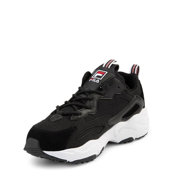 alternate view Fila Ray Tracer Athletic Shoe - Big Kid - BlackALT2