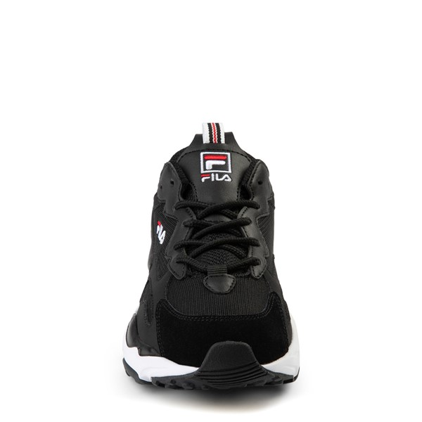 alternate view Fila Ray Tracer Athletic Shoe - Big Kid - BlackALT4