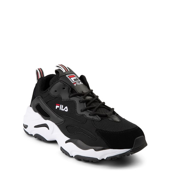 alternate view Fila Ray Tracer Athletic Shoe - Big Kid - BlackALT5