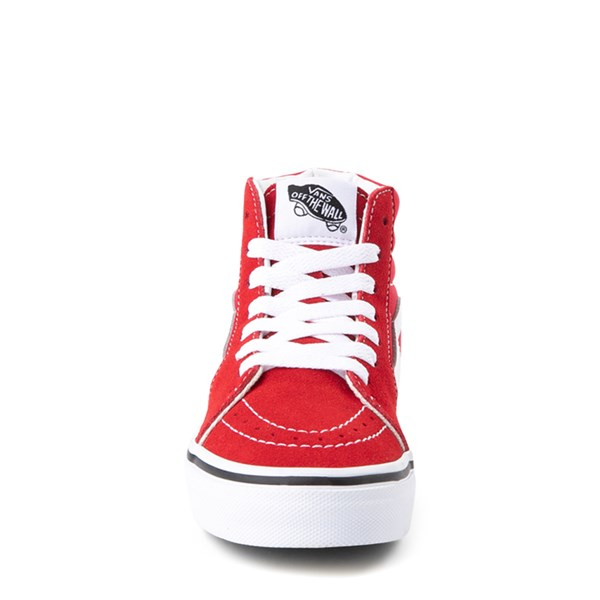 alternate view Vans Sk8 Hi Skate Shoe - Little Kid / Big Kid - Racing RedALT4