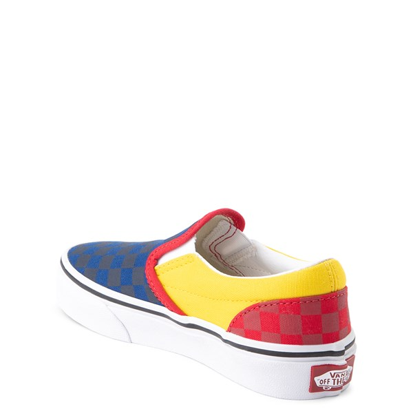 alternate view Vans Slip On OTW Rally Checkerboard Skate Shoe - Little Kid / Big Kid - MultiALT2
