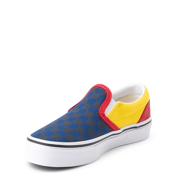 alternate view Vans Slip On OTW Rally Checkerboard Skate Shoe - Little Kid / Big Kid - MultiALT3