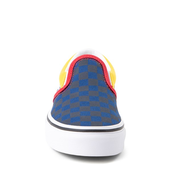 alternate view Vans Slip On OTW Rally Checkerboard Skate Shoe - Little Kid / Big Kid - MultiALT4