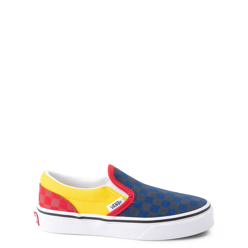 Vans Slip On OTW Rally Checkerboard Skate Shoe - Little Kid / Big Kid - Multi