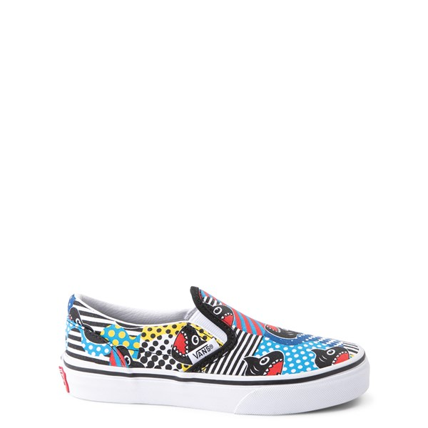 Vans x Discovery's Shark Week Slip On Skate Shoe - Little Kid - Multi