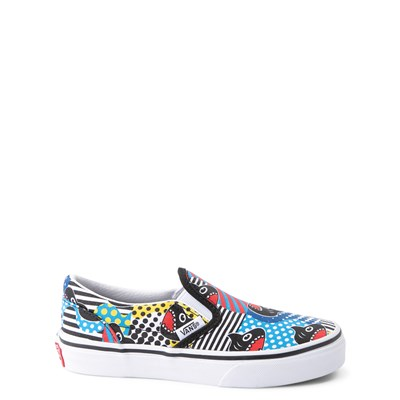 Main view of Vans x Discovery's Shark Week Slip On Skate Shoe - Little Kid