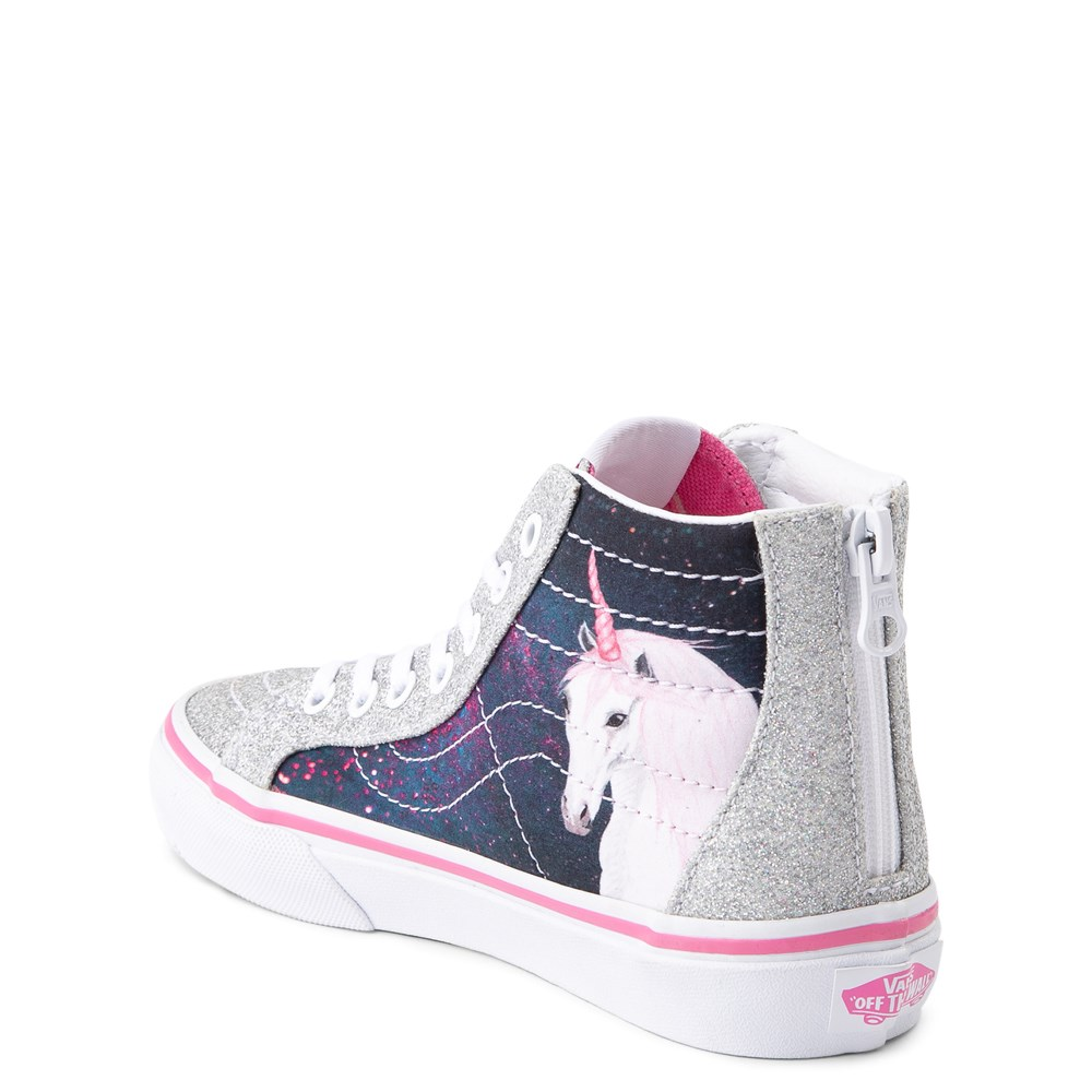 Vans Sk8 Hi Zip Unicorn Skate Shoe