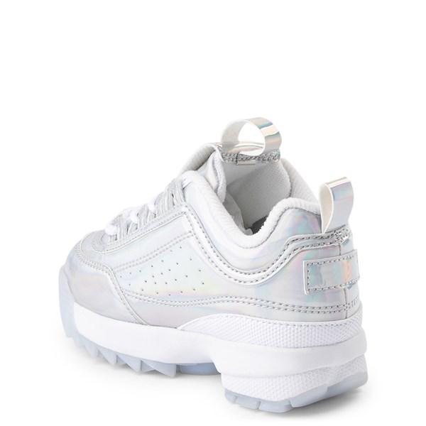 alternate view Fila Disruptor 2 Athletic Shoe - Baby / Toddler - SilverALT2