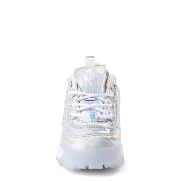 alternate view Fila Disruptor 2 Athletic Shoe - Baby / Toddler - SilverALT4