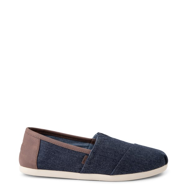 Main view of Mens TOMS Classic Slip On Casual Shoe - Navy