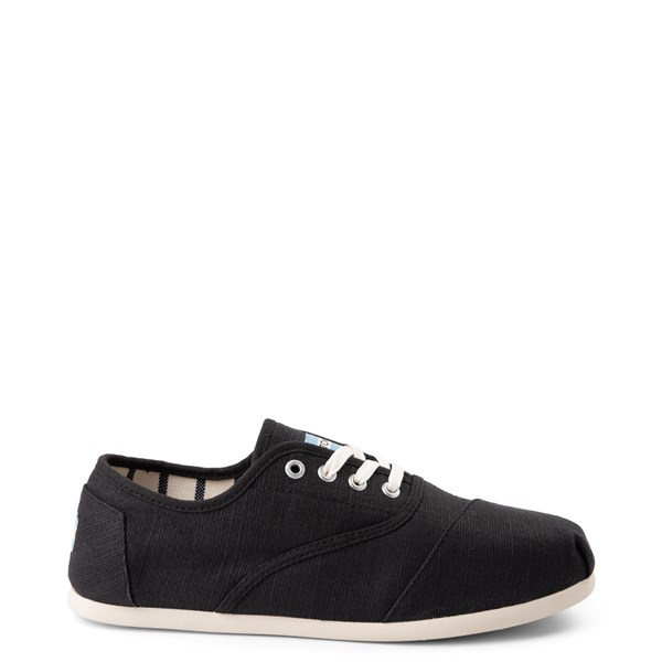 Mens TOMS Cordones Casual Shoe - Black