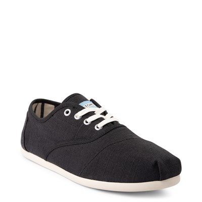 Alternate view of Mens TOMS Cordones Casual Shoe - Black