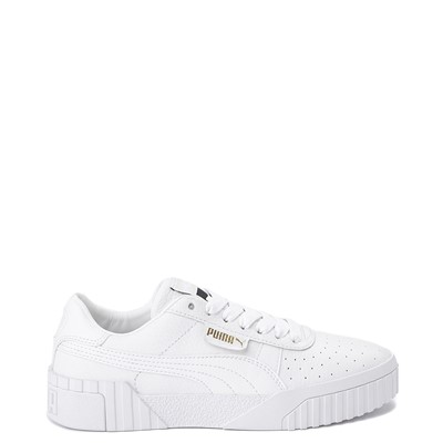 Main view of Womens Puma Cali Fashion Athletic Shoe - White / Gold