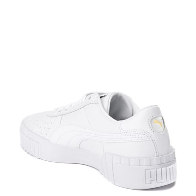 Alternate view of Womens Puma Cali Fashion Athletic Shoe - White / Gold