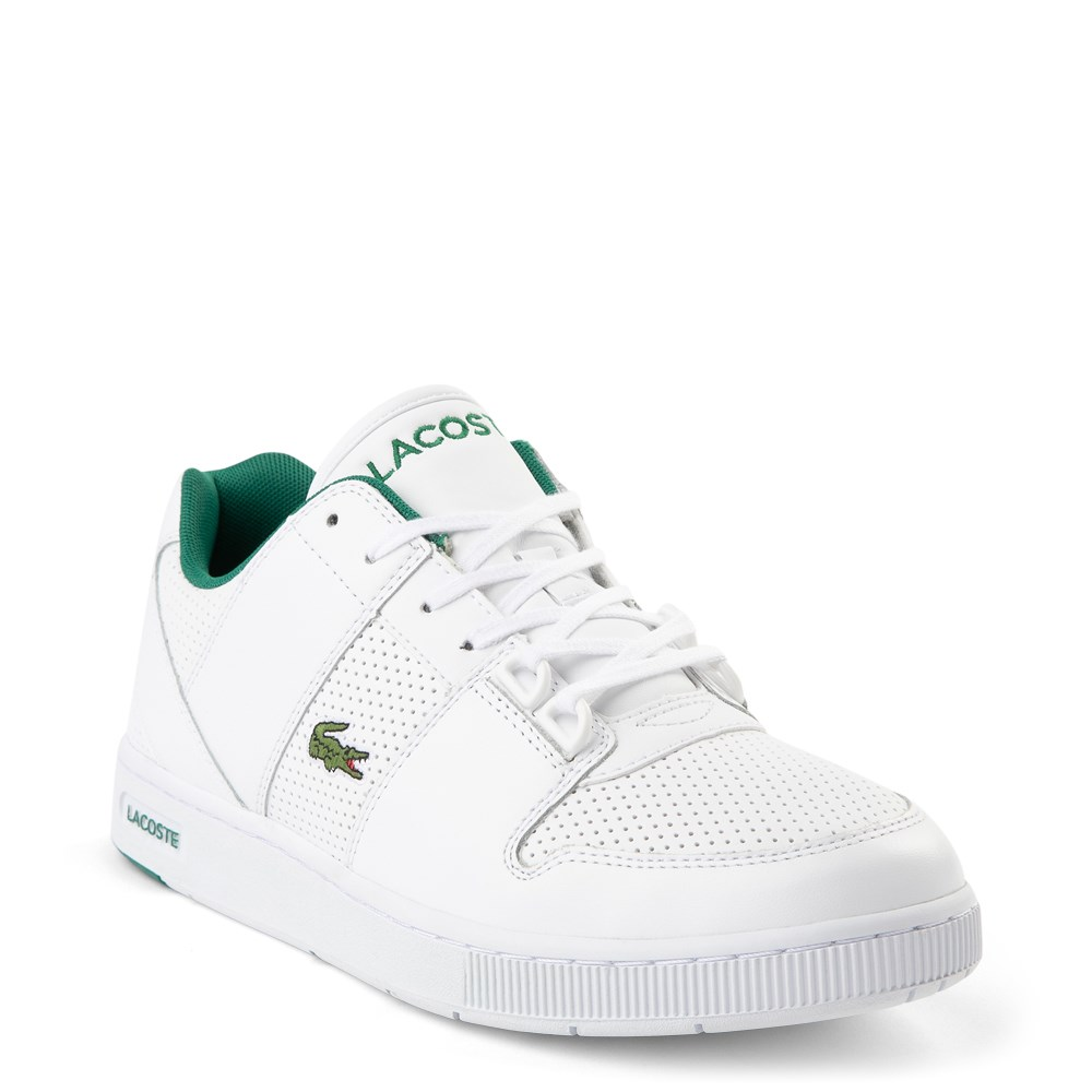 Lacoste Men NEW Graduate Series Leather Lace Up Tennis Shoes Comfort Sneakers