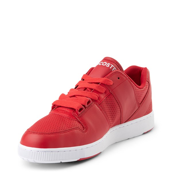 alternate view Mens Lacoste Thrill Athletic Shoe - RedALT3