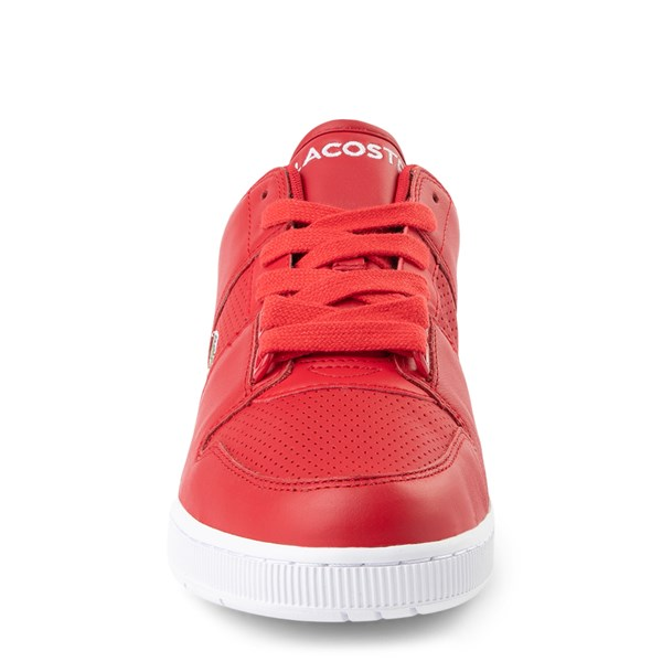 alternate view Mens Lacoste Thrill Athletic Shoe - RedALT4
