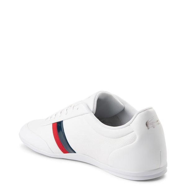 alternate view Mens Lacoste Storda Athletic Shoe - WhiteALT2