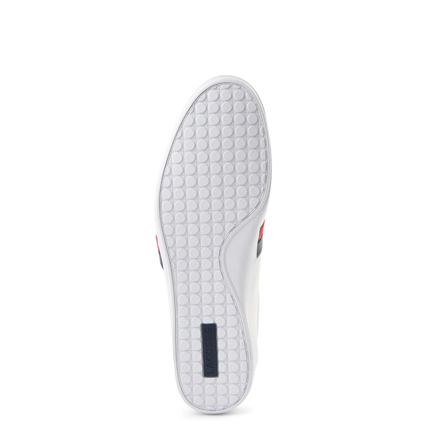 alternate view Mens Lacoste Storda Athletic Shoe - WhiteALT5