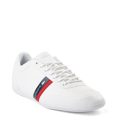 Alternate view of Mens Lacoste Storda Athletic Shoe - White
