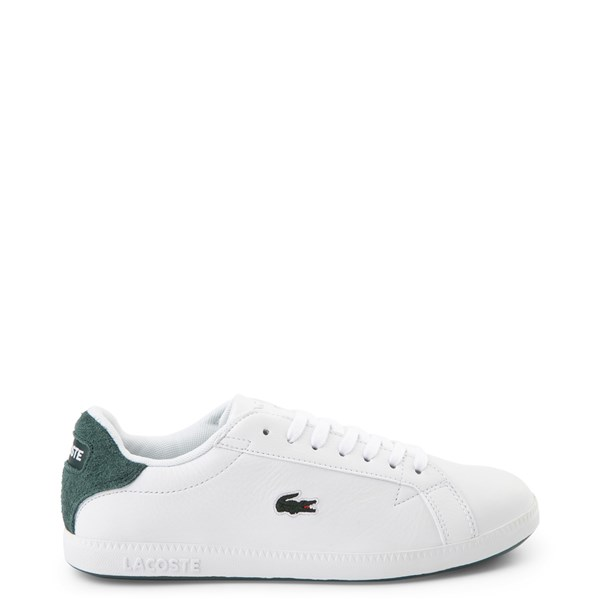 Womens Lacoste Graduate Athletic Shoe - White / Dark Green