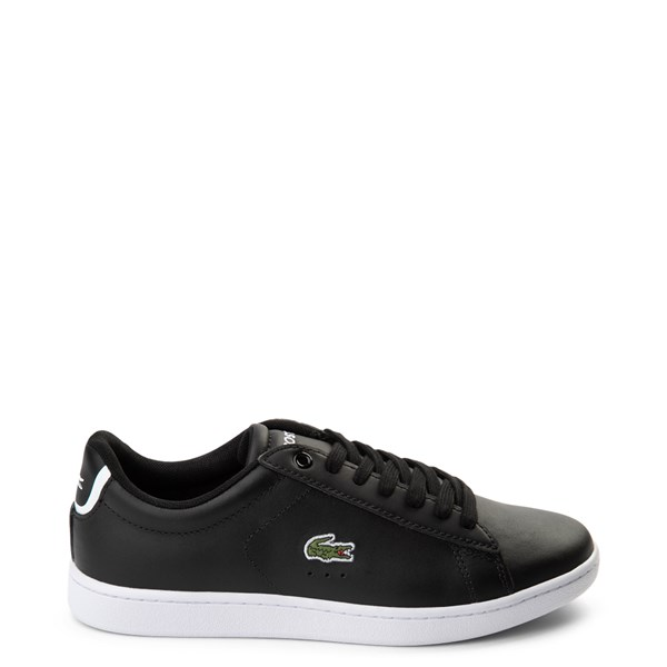 Main view of Womens Lacoste Carnaby Athletic Shoe - Black / White