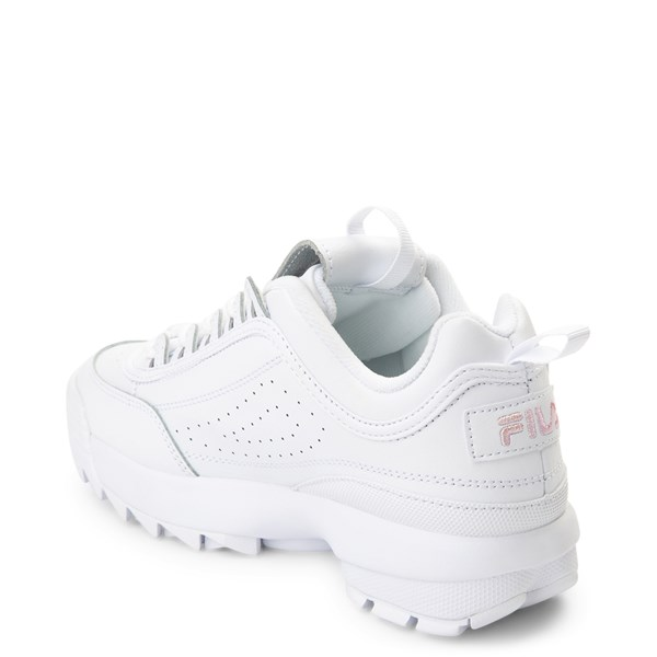 alternate view Womens Fila Disruptor 2 Athletic Shoe - White / PinkALT2